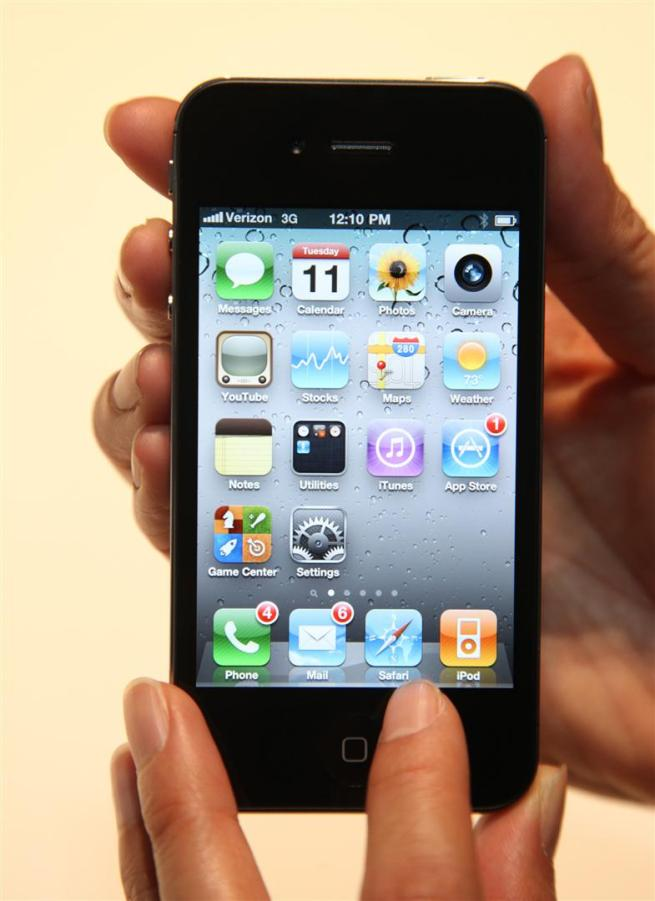 The iPhone 4 for Verizon (Photo: Courtesy of Verizon).