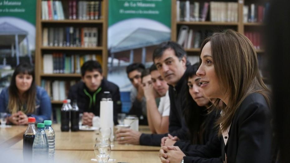 """Miguel Saredi: """"Un orgullo en el día del estudiante nuestra Gobernadora en nuestra Universidad de La Matanza"""""""