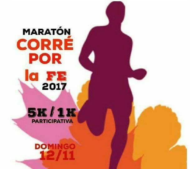 Salud: Maratón Corre por la Fe 2017 y Jornadas de  Prevención en Laferrere