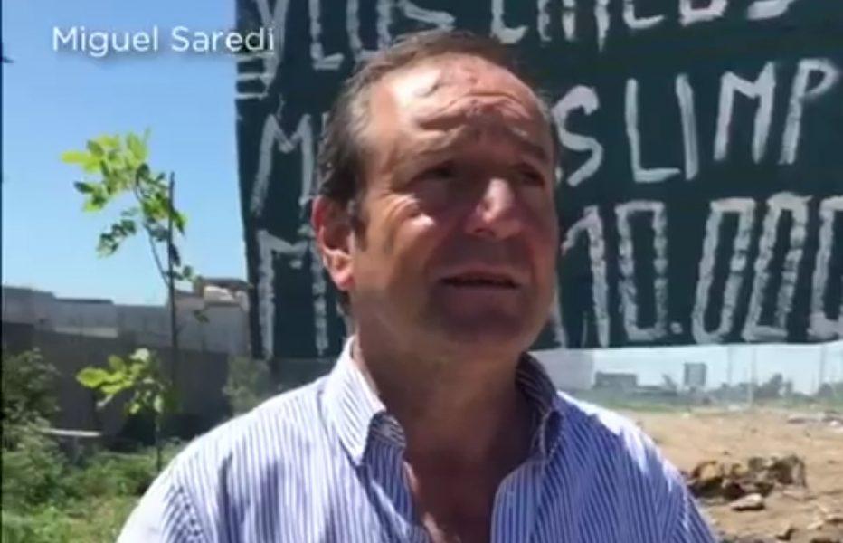 Miguel Saredi destacó la limpieza de basural en la zona del Mercado Central