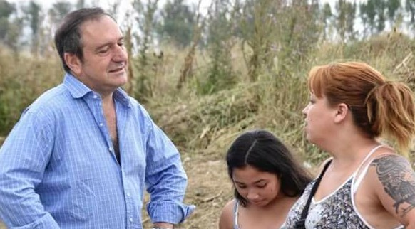 Miguel Saredi reclama por la falta de luminaria del Barrio Don Juan