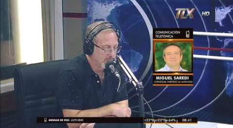 Miguel Saredi estuvo en el programa Sin Despertador de Lucio Di Matteo por Radio Latina