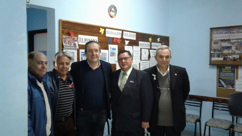 Miguel Saredi asistió a la inauguración de las obras de ampliación de la Delegación de la Mutual de Suboficiales de la Policia Federal en San Justo