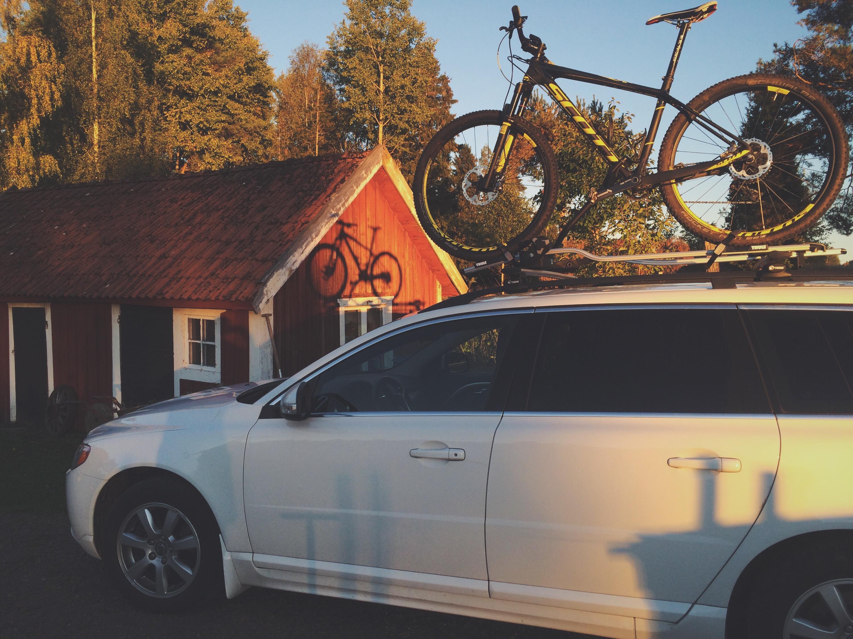 bästa cykelstället till bilen