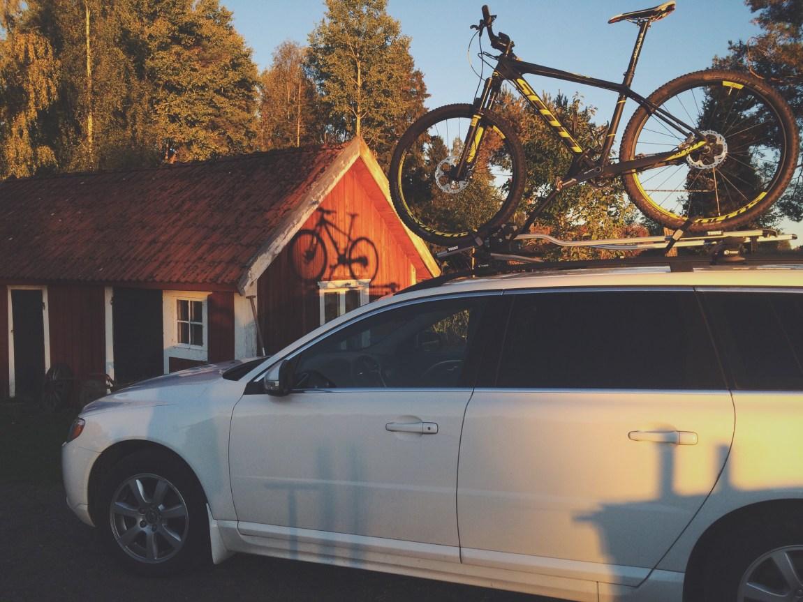 Thule cykelställ