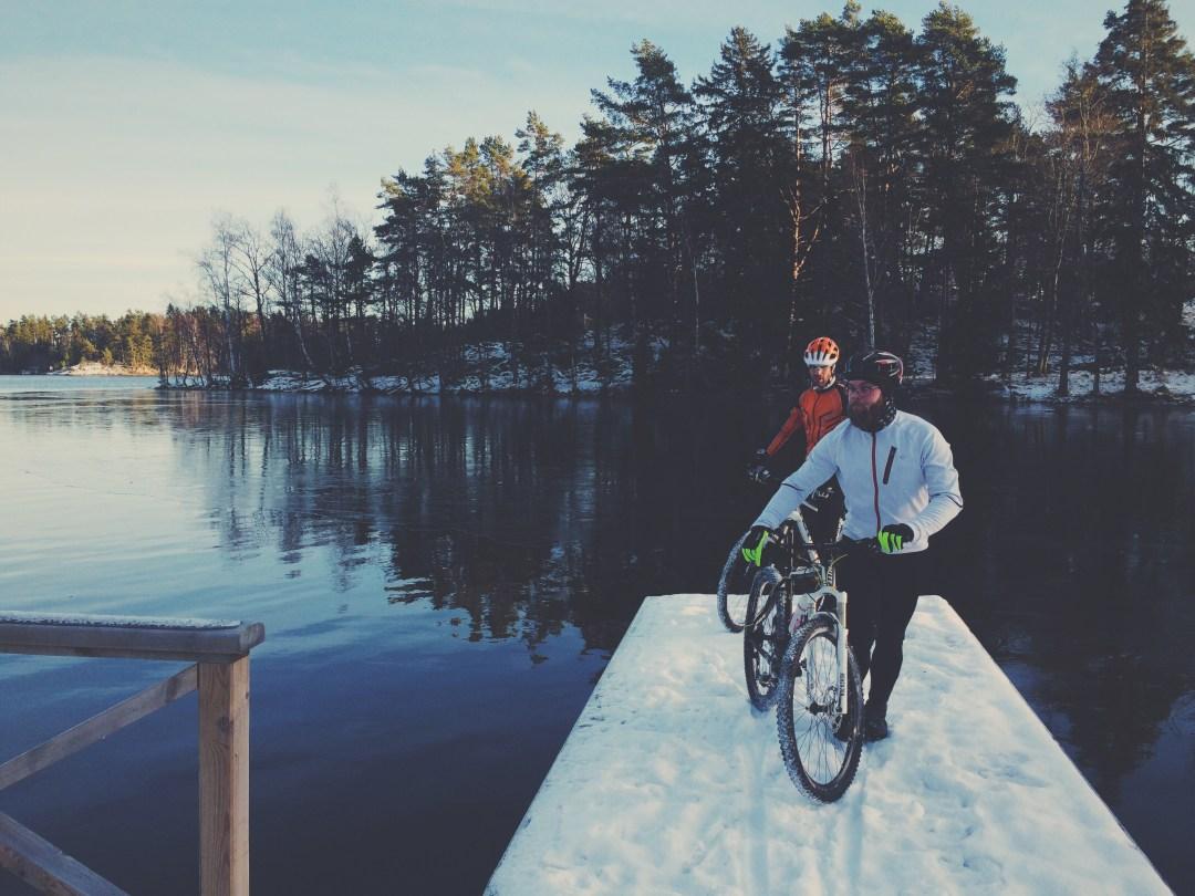 Brygga nära Bunnström