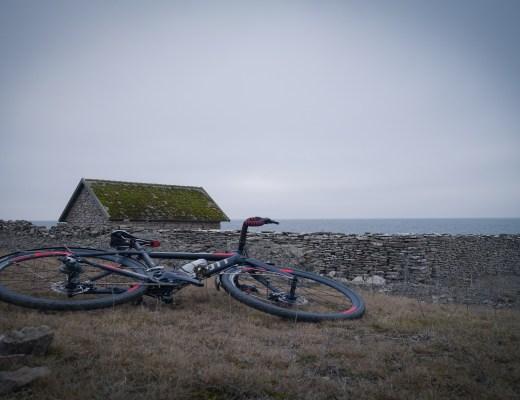 En sjöbod på norra Öland