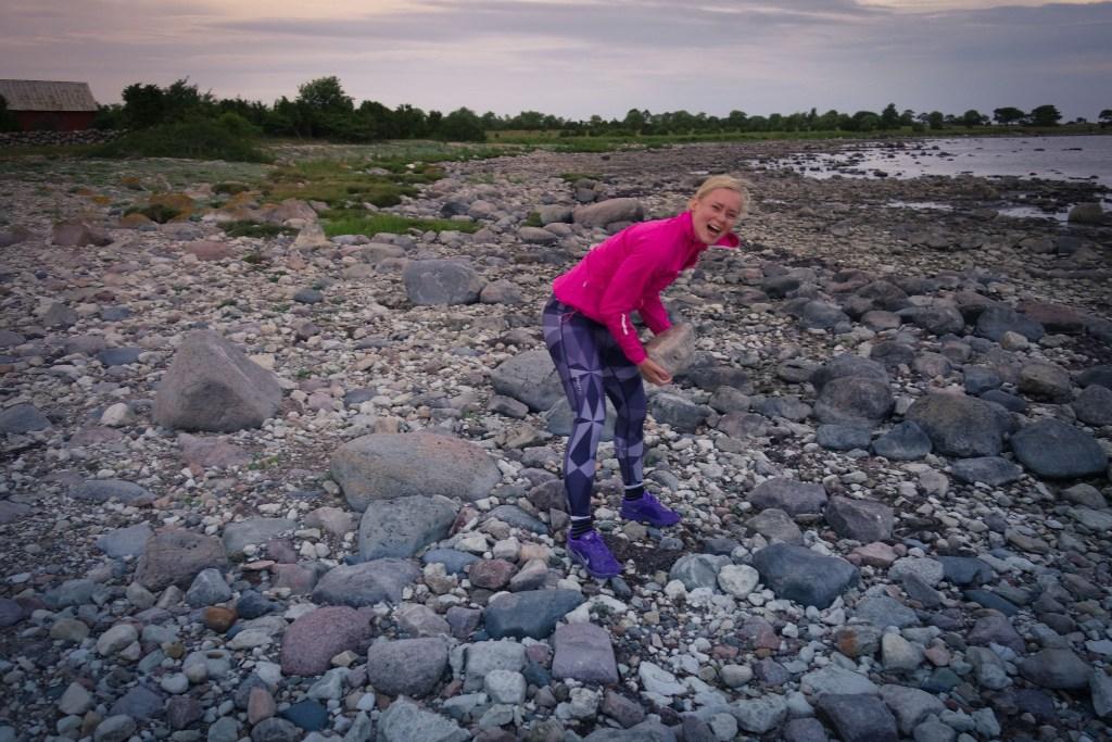 Träningsglädje sommartid på Öland