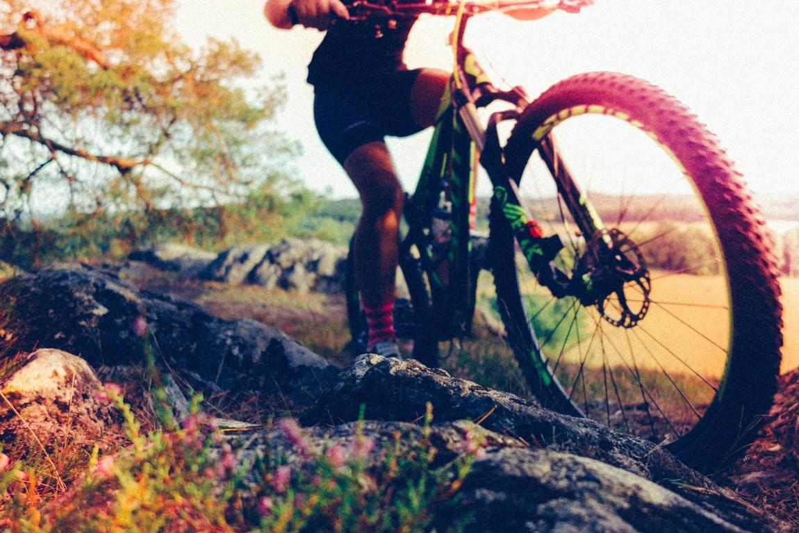 Cykla MTB i Huskvarna