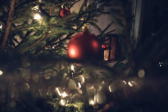 Kärlek vid julgranen