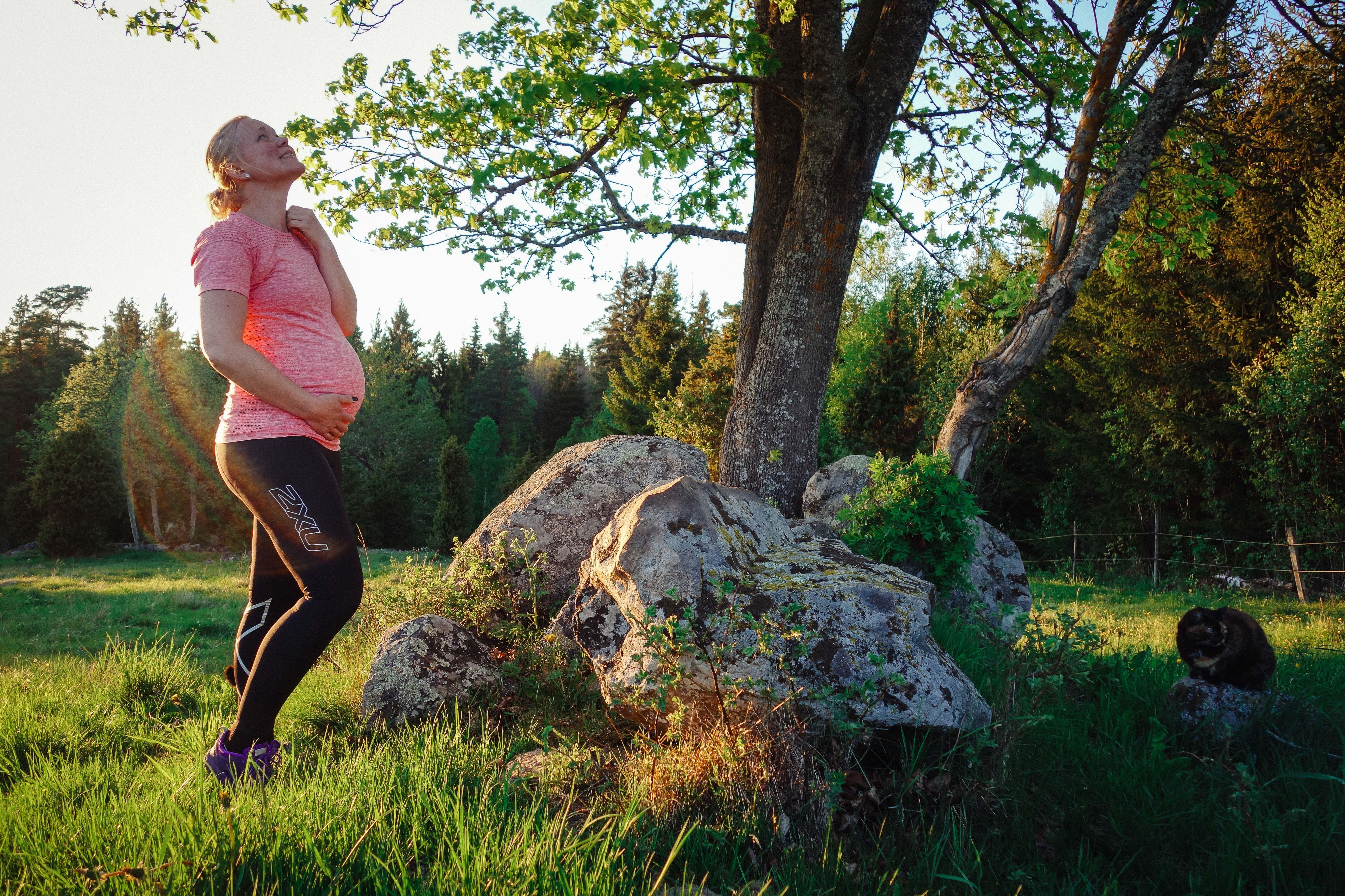 2faae2f35eb4 Träningskläder för gravida: 2XU Pre-Natal Sport Compression Tights - Elna  Dahlstrand