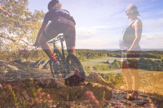 Cykla efter förlossningen