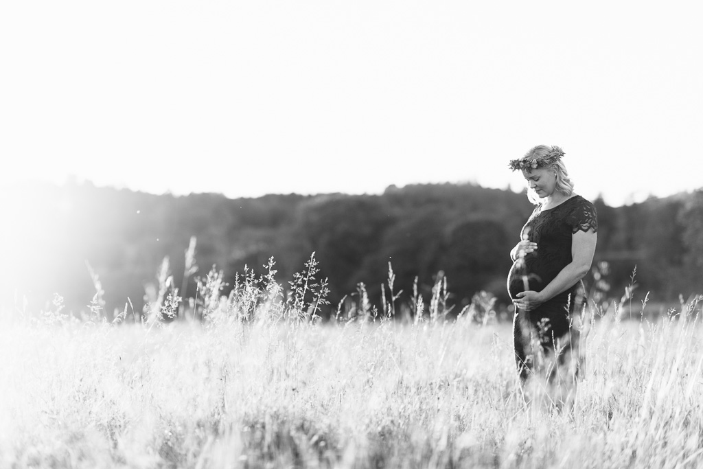 Elna gravidfotografering Dessi