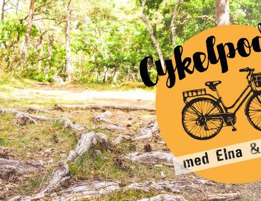 Cykelpodd med Elna och Helena