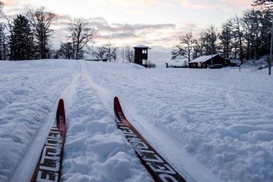 Skidor på IKHP