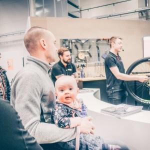 Cykelmässan med bebis