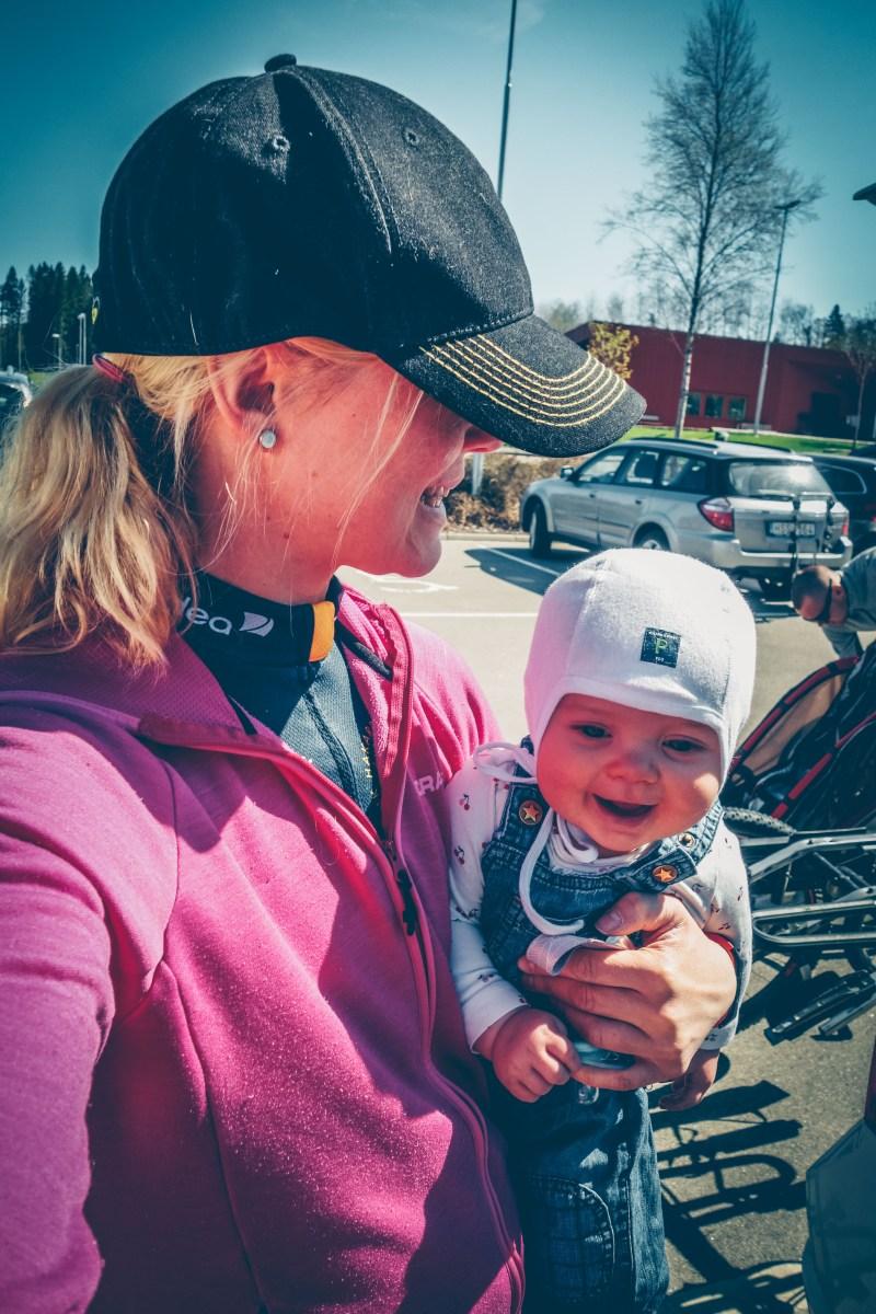 Pre race med cykelfrö