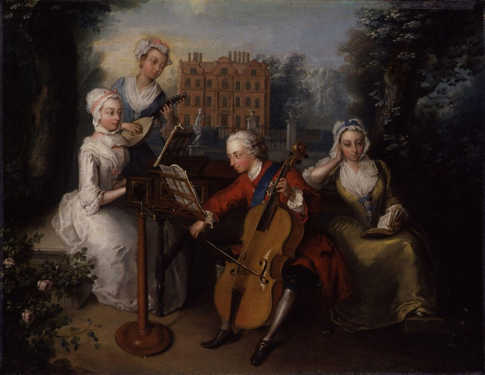 Frederick,_Prince_of_Wales,_and_his_sisters_by_Philip_Mercier