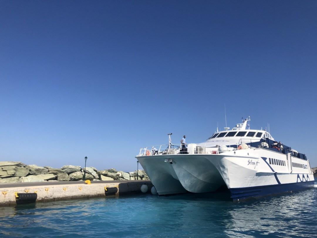 Λιμάνι Φολέγανδρου Καραβοσταση
