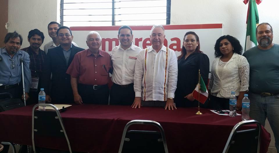 Morena Tamaulipas presenta su Comité Ejecutivo Estatal