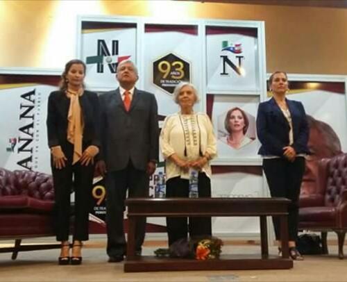 Poniatowska y AMLO piden un minuto de silencio por Miroslava