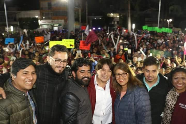 Arranca campaña Delfina Gómez en Texcoco