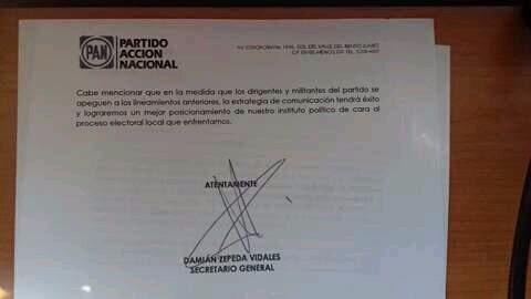PAN ordena a sus candidatos y dirigentes desprestigiar a Morena y a AMLO