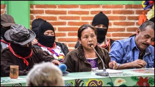 EZLN elige a María de Jesús Patricio como candidata presidencial para 2018