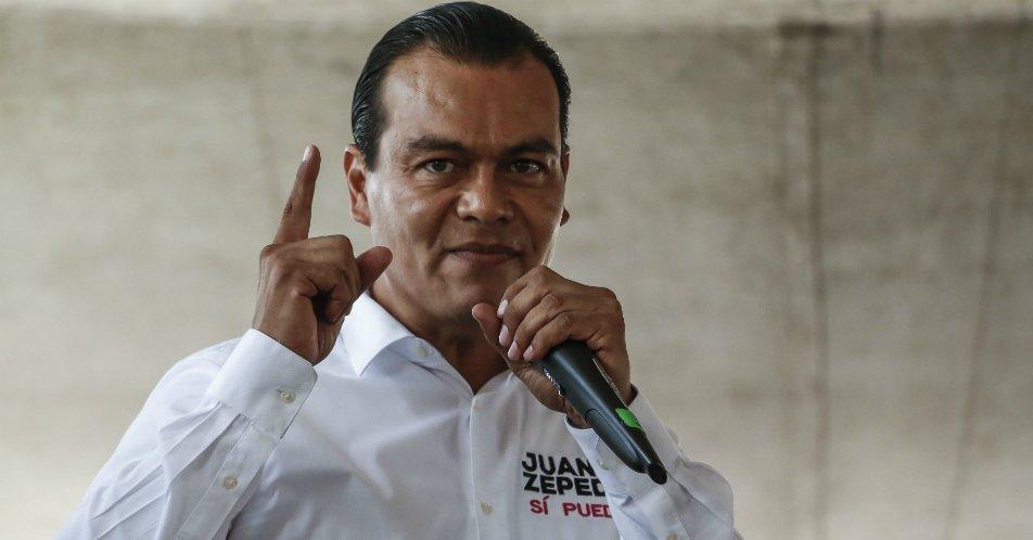 Juan Zepeda se destapa como candidato presidencial