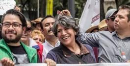 Delfina Gómez convoca a 'marcha de la esperanza' de Texcoco a Toluca