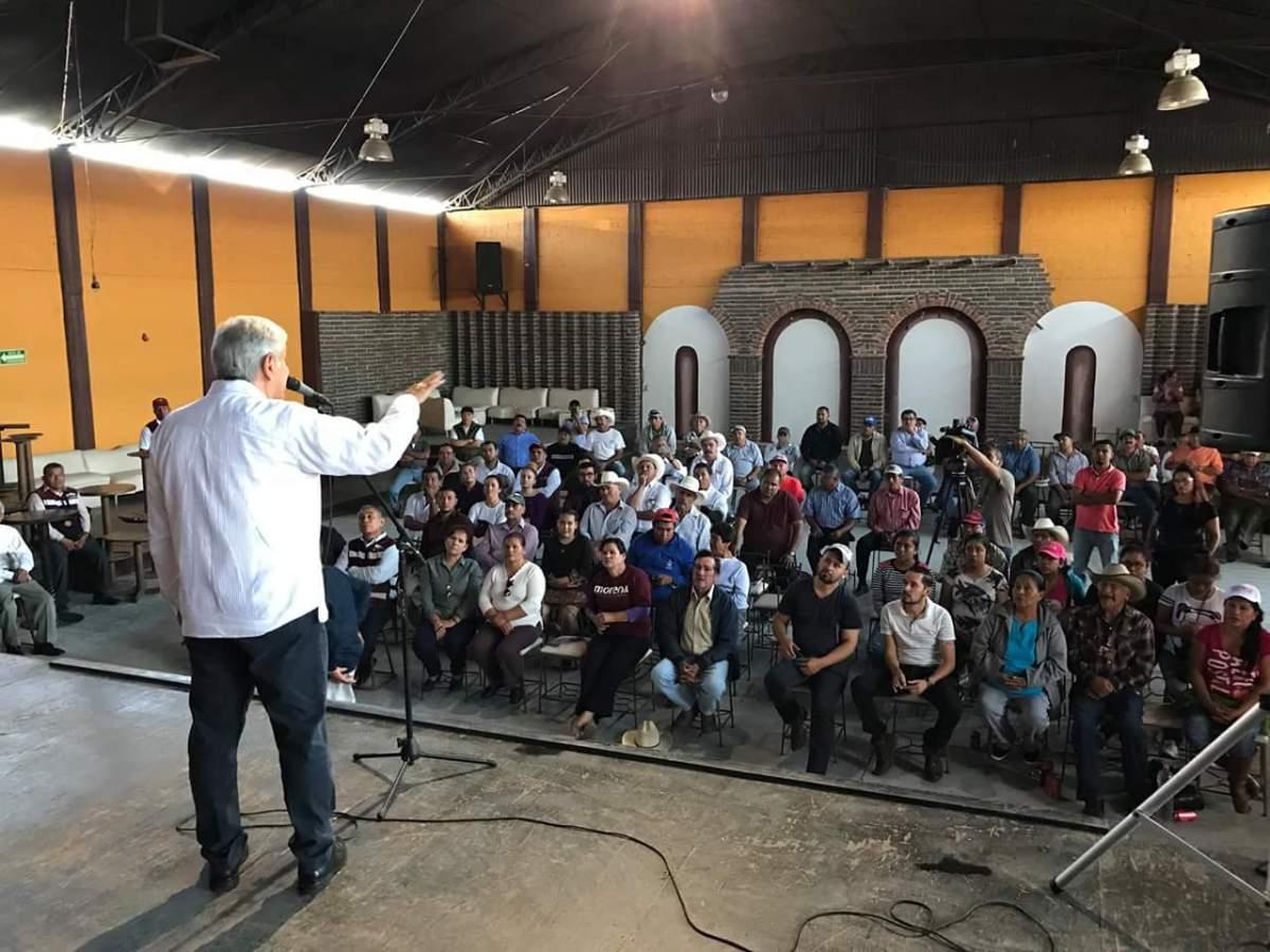 Pide AMLO prepararse para ver un destape del candidato del PRI como era antes, ya que Peña decidirá