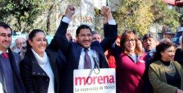 Martí Batres se registró como aspirante de Morena al Senado