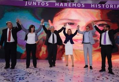 AMLO rinde protesta como candidato del PES