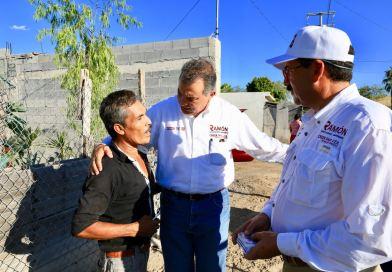 Decepciona a la gente gobierno de Enrique Rivas, señala el candidato Ramón Garza Barrios
