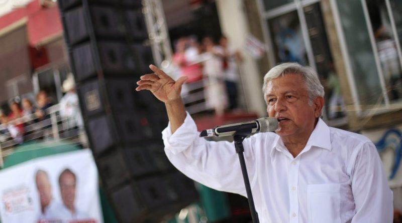 Anuncia AMLO que su cierre de campaña será el 27 de junio en el Estadio Azteca