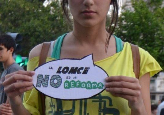"""""""La LOMCE no es mi reforma""""."""