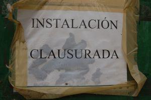 Instalación clausurada