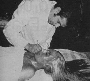 El cadáver embalsamado de Evita