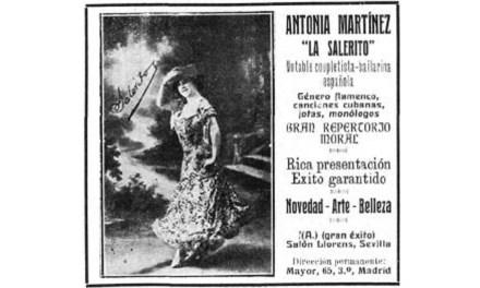 Antonia Martínez La Salerito (2ª Parte)
