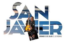 Cartel anunciando a George Benson en San Javier