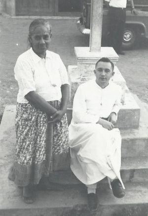 Párroco en Ecuador, 1959
