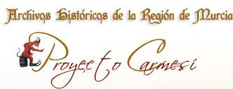 Bullas colabora en el Proyecto Carmesí del Archivo Regional