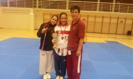 Yu Na Sin Lee y Carmen Santillana obtienen medalla en el Open de Navarra
