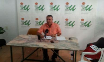 Juan Berbell pide la disolución del Ayuntamiento de Caravaca y la creación de una comisión gestora