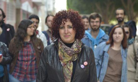 «Entendemos que hay otra forma de hacer política con una rotación de cargos, con mayor protagonismo de la juventud», Candi Marín