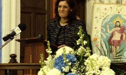 """Senena Corbalán invita a """"aunar esfuerzos e ilusiones"""" para vivir la Semana Santa de Cehegín"""