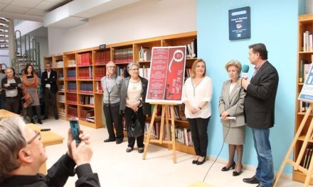 La bibliotecaria, Juana Teresa, homenajeada por el Ayuntamiento de Bullas por su jubilación