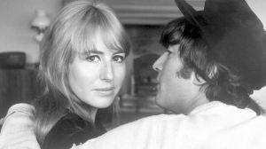 John y Cynthia Lennon