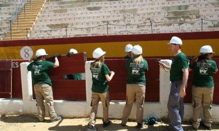 La segunda fase de la remodelación de la Plaza de Toros de Cehegín comienza con 21 trabajadores