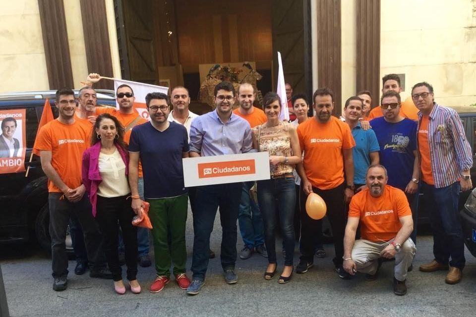 Ciudadanos (C's) inicia una campaña de proximidad para acercar sus propuestas a todos los habitantes del municipio de Caravaca